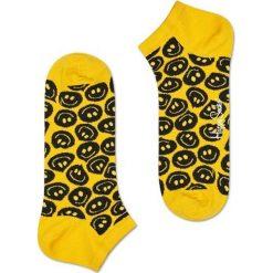 Skarpety Happy Socks (TSM05-2000). Żółte skarpetki męskie Happy Socks, z bawełny. Za 24,99 zł.