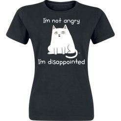 T-shirty damskie: Goodie Two Sleeves I´m Not Angry I´m Disappointed Koszulka damska czarny