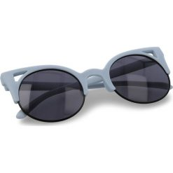 Okulary przeciwsłoneczne damskie aviatory: Okulary przeciwsłoneczne VANS – Window Pane Sun VN0A3ILQP2U Matte Baby Blue