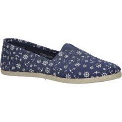 Granatowe buty tomsy espadryle Mckey DTN228/18NV. Szare tomsy damskie marki Mckey. Za 29,99 zł.