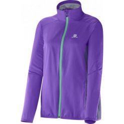 Salomon Kurtka Start Jacket W Little Violette/Artist Grey-X M. Szare kurtki damskie do fitnessu Salomon, s. W wyprzedaży za 299,00 zł.