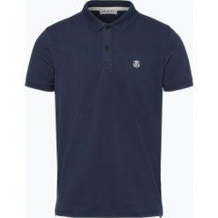 Selected - Męska koszulka polo – Haro, niebieski. Szare koszulki polo marki Selected, l, z materiału. Za 99,95 zł.