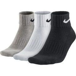 Skarpety Nike Value Quarter 3PK (SX4926-901). Czarne skarpetki męskie marki Nike. Za 29,99 zł.