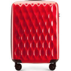 Walizka kabinowa 56-3H-551-30. Czerwone walizki marki Wittchen, z gumy, małe. Za 179,00 zł.