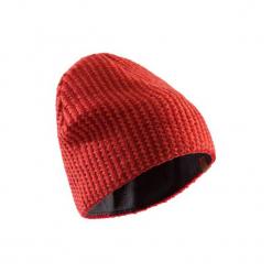 Czapka FDW czerwona. Brązowe czapki damskie SIMOND, z materiału. Za 39,99 zł.
