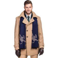 Płaszcz LOUIS PSEE000038. Brązowe płaszcze na zamek męskie Giacomo Conti, na jesień, m, z kaszmiru, eleganckie. Za 1299,00 zł.