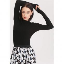 Czarny Sweter Burnished. Czarne swetry klasyczne damskie other, na jesień, xl. Za 39,99 zł.