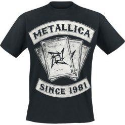 Metallica Dealer T-Shirt czarny. Czarne t-shirty męskie z nadrukiem Metallica, m. Za 74,90 zł.