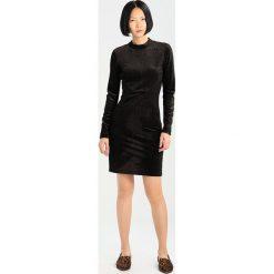 Sukienki hiszpanki: YAS YASLALLA  Sukienka letnia black/copper