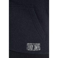 Teddy Smith GARMER Bluza rozpinana dark navy chiné. Niebieskie bluzy chłopięce rozpinane marki Teddy Smith, z bawełny. W wyprzedaży za 167,20 zł.