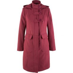 Płaszcze damskie: Płaszcz bonprix bordowy