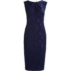 Swing Sukienka koktajlowa ink. Niebieskie sukienki koktajlowe marki Swing, z elastanu. Za 519,00 zł.