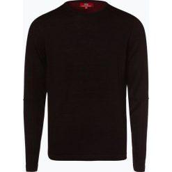Finshley & Harding London - Sweter męski, czerwony. Czerwone swetry klasyczne męskie Finshley & Harding London, l. Za 179,95 zł.