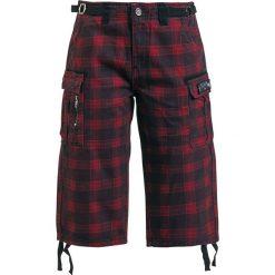 Black Premium by EMP Army Vintage Shorts Krótkie spodenki damskie czerwony/czarmy. Czarne szorty damskie marki Black Premium by EMP, xl, z poliesteru. Za 66,90 zł.