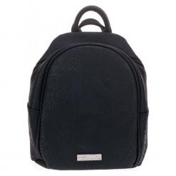 Tamaris Plecak Damski Czarny Matilda. Czarne plecaki damskie marki Tamaris, w koronkowe wzory, z koronki, eleganckie. Za 229,00 zł.