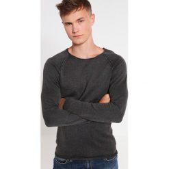 Swetry klasyczne męskie: Selected Homme SHNCLASHACID CREW NECK Sweter pirate black