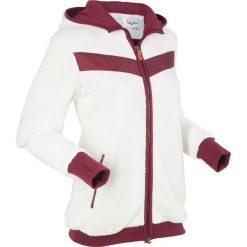 Bluzy polarowe: Miękka bluza z polaru, długi rękaw bonprix biel wełny