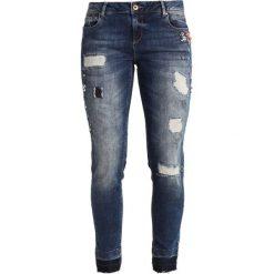 Betty & Co Jeansy Slim Fit blue denim. Niebieskie jeansy damskie Betty & Co, z bawełny. Za 399,00 zł.