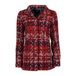 Desigual Płaszcz Damski 44 Czerwony. Czerwone płaszcze damskie Desigual. W wyprzedaży za 399,00 zł.