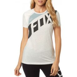 T-shirty damskie: FOX T-Shirt Damski Seca Crew Xs Szary