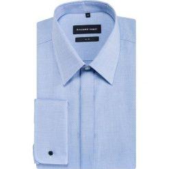 Koszula SIMONE slim KDNS000468. Niebieskie koszule męskie na spinki Giacomo Conti, m, z bawełny, z klasycznym kołnierzykiem, z długim rękawem. Za 199,00 zł.