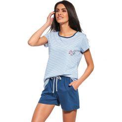 Piżamy damskie: Damska piżama Sea of Love niebieska