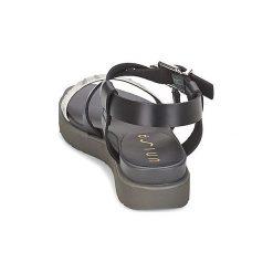 Sandały Unisa  CHARO. Czarne sandały damskie marki Unisa. Za 351,20 zł.
