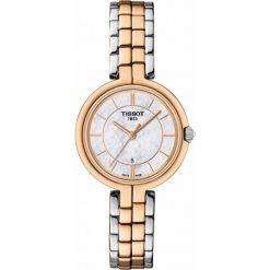 RABAT ZEGAREK TISSOT T - LADY T094.210.22.111.00. Białe zegarki damskie TISSOT, ze stali. W wyprzedaży za 1364,00 zł.