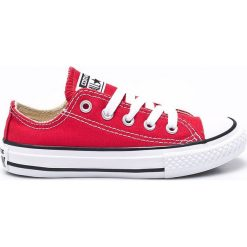 Converse - Tenisówki dziecięce. Szare buty sportowe dziewczęce Converse, z gumy, na sznurówki. Za 199,90 zł.
