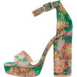 Sandały damskie: Steve Madden JASMINE Sandały na obcasie multicolor