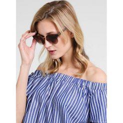 Burberry Okulary przeciwsłoneczne brown. Czarne okulary przeciwsłoneczne damskie lenonki marki Burberry. Za 719,00 zł.
