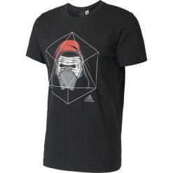 Adidas Koszulka męska KYLO REN TEE czarny r. L (BK2838). Czarne koszulki sportowe męskie Adidas, l. Za 110,69 zł.