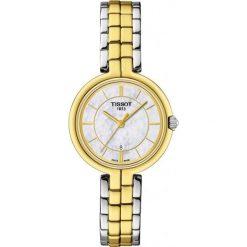 RABAT ZEGAREK TISSOT T-Lady T094.210.22.111.01. Białe zegarki męskie TISSOT, ze stali. W wyprzedaży za 1364,00 zł.