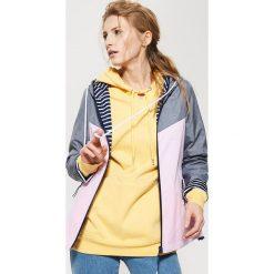 Kurtki damskie: Dwustronna kurtka – Różowy