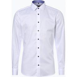 Koszule męskie na spinki: Eterna Slim Fit – Koszula męska niewymagająca prasowania, czarny
