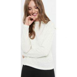 Lekki sweter z półgolfem. Brązowe swetry klasyczne damskie marki Orsay, s, z dzianiny, z golfem. W wyprzedaży za 55,00 zł.