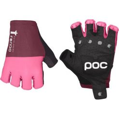 """Rękawiczki damskie: Rękawiczki kolarskie """"Fondo"""" w kolorze różowym"""