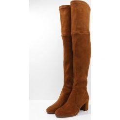 Polo Ralph Lauren MICHAELA Muszkieterki whiskey. Brązowe buty zimowe damskie Polo Ralph Lauren, z materiału. W wyprzedaży za 1637,35 zł.