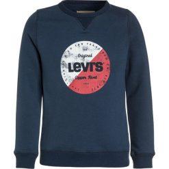 Levi's® RONDO Bluza dress blue. Brązowe bluzy chłopięce marki Levi's®, z bawełny. W wyprzedaży za 151,20 zł.