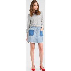 Odzież damska: Armani Exchange Spódnica trapezowa indigo denim
