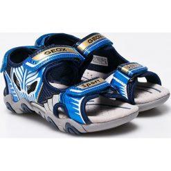 Geox - Sandały dziecięce. Szare sandały męskie skórzane Geox. W wyprzedaży za 239,90 zł.