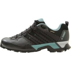 Adidas Performance TERREX SCOPE GTX W Obuwie hikingowe carbon/core black/ash green. Brązowe buty sportowe damskie marki adidas Performance, z gumy. W wyprzedaży za 475,30 zł.