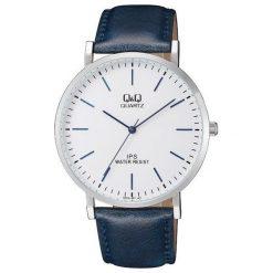 Zegarek Q&Q Męski QZ02-301 Klasyczny Slim. Szare zegarki męskie Q&Q. Za 96,99 zł.