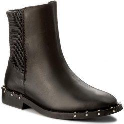 Botki BRONX - 46991-E BX 1433 Black 01. Czarne buty zimowe damskie marki Bronx, z materiału. W wyprzedaży za 329,00 zł.