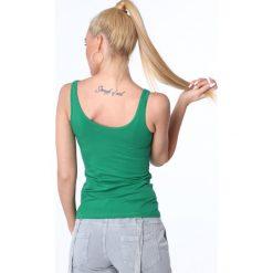 Koszulka na ramiączka zielona MP14881. Zielone bluzki damskie Fasardi, l. Za 29,00 zł.