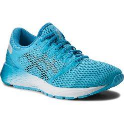Buty ASICS - RoadHawk FF 2 1012A123 Aquarium/Black 400. Niebieskie buty do biegania damskie Asics, z materiału. W wyprzedaży za 349,00 zł.