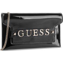 Torebka GUESS - HWMB69 97730  BLA. Czarne torebki klasyczne damskie marki Guess, z aplikacjami, ze skóry ekologicznej. Za 449,00 zł.