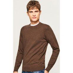 Gładki sweter - Bordowy. Czerwone swetry klasyczne męskie marki Nike, s, z poliesteru. Za 79,99 zł.