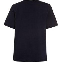 BOSS Kidswear KURZARM ZBASIC Tshirt z nadrukiem marine. Niebieskie t-shirty męskie z nadrukiem marki BOSS Kidswear, z bawełny. Za 159,00 zł.