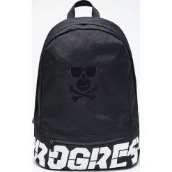 Plecak z kolekcji PROGRESS - Czarny. Czarne plecaki męskie marki Cropp. Za 89,99 zł.